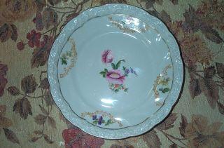 Antique Antiquarian Porcelain Plate Germany,  1921 photo