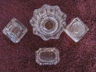 Decorative Arts Glass Salt Pepper Shakers Antiques Browser