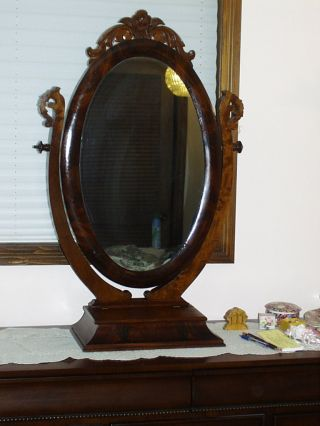 Jewelry box antiques for Large stand up mirror