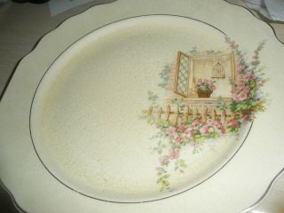 Vintage W S George Lido Plate photo