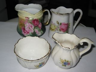 Antique European Porcelain Creamers photo