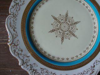 Stunning Cauldon - Brown Westhead & Moore Lavishly Gilt Cabinet Plate Nr photo