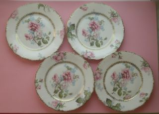 Magnificent Set Of 4 Plates Jaeger & Co. ,  Germany