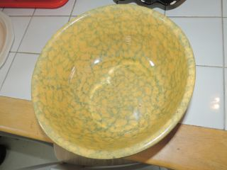 100 Year Old Spong Ware Bowl.  No Makers Mark photo