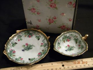 Royal Arden International Ltd Stamped Cute Lil Bowl & Tray Crown & Cross Stamp photo