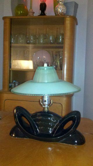 Mid - Century Atomic Age Lamp photo