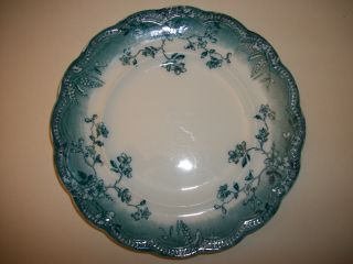 Johnson Brothers Transfer Ware Turquoise Color photo