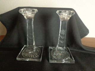 Etched Candle Stick Holders photo