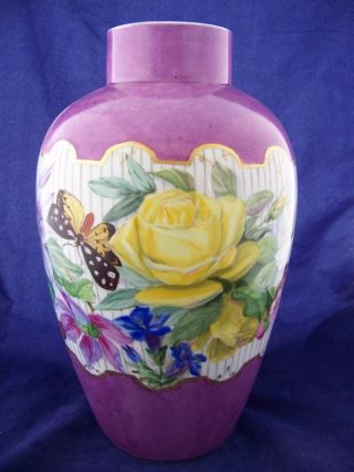 Antique Rosenthal Signed Hand Painted Floral 13