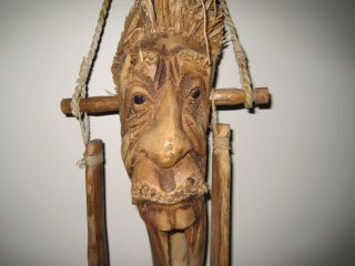 Hand Carved - - Wooden Door Knocker photo