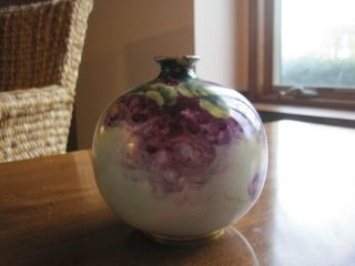 Antique Floral Vase - 1901 photo