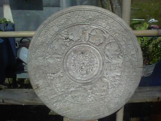 Wooden Table Top. . .  Handcarved. . .  Wonderful Designs photo