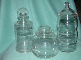 Assorted Apothecary Jars photo