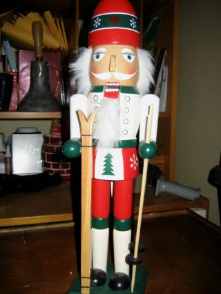 Christmas Wooden Nut Cracker photo