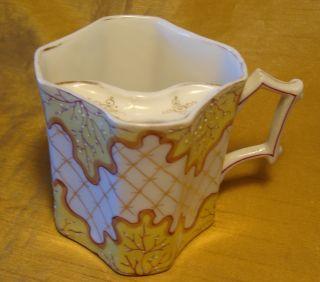Antique 19th C R.  S.  Reinhold Schlegelmilch Mustache Cup/mug: Pre 1894 Arrow Mark photo