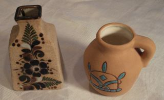 Two Ceramic Vases Mexican Pottery photo
