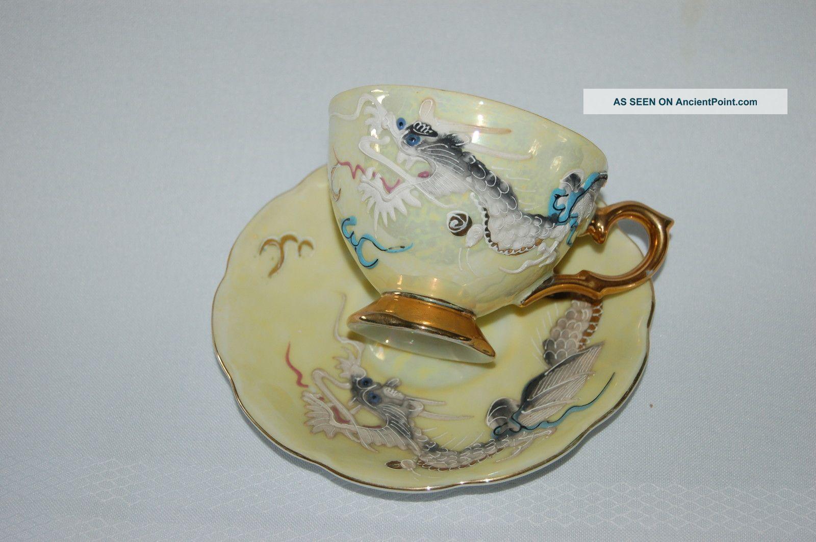 Antique Japanese Porcelain Tea Cups 2 Antique Shafford Tea Cup