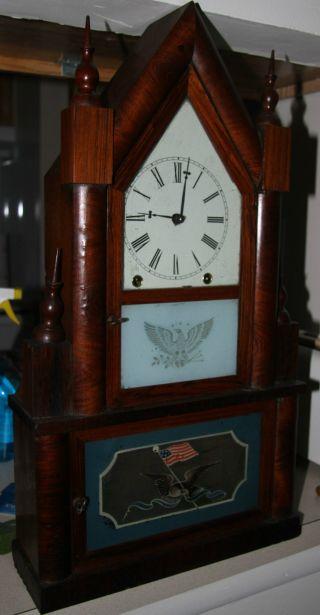 Smith Double Steeple Clock - photo