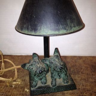 1931 Scotty Dog Lamp Made By Roton photo