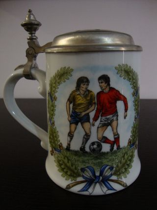 Exclusive German Beer Mug (tin Lid - 93% Sn) - Unique Piece And photo