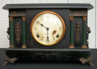 Sessions Mantle Clock Made In Forestville,  Conn.  Usa photo