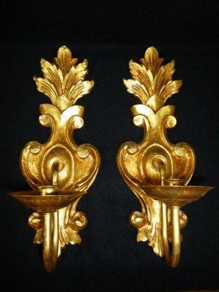 Gold Wall Candle Fixtures,  15