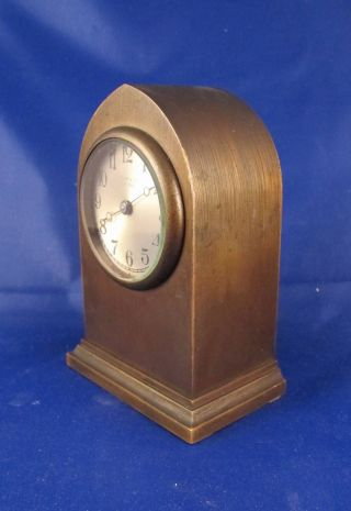 Tiffany & Co - C1920 Bronze Chelsea Desk Clock photo