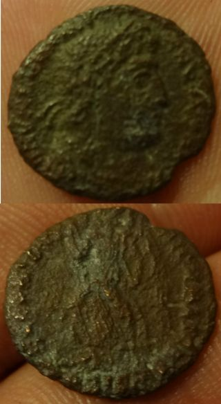 Metal Detecting Find.  Roman Coin Token. .  Birmingham Area photo