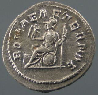 Philip I,  Antoninian,  Silver,  Roma,  Romae Aeternae,  244 - 249 A.  D. photo