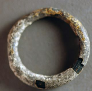 Ring,  Roman Glass Over 1600 Years Old Nr photo