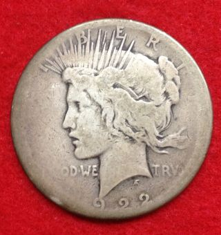 1922,  Peace Dollar photo