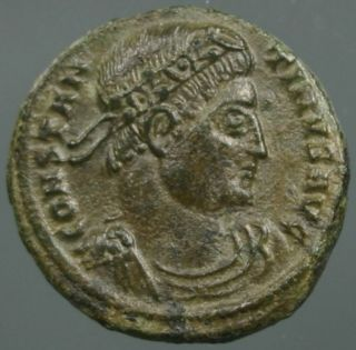 Constantine The Great,  Camp Gate,  Providentiae Avgg,  Mint Thessalonica,  Saloniki photo
