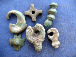 Medieval Artifacts X 6 photo