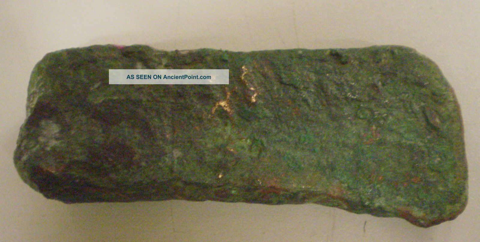 Small Copper Axe Head From Old British Collection Neolithic & Paleolithic photo