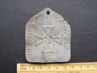 16th Century Parish Led Payment Seal photo