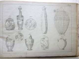 1823 German Published Engravings Ancient Greek Art By Edward Dodwell Rarity photo
