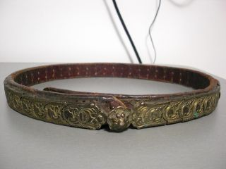 Antique Ottoman Silver - Gold Belt 1800 ' S 18 - 19th C.  Islamic Rare Museum photo