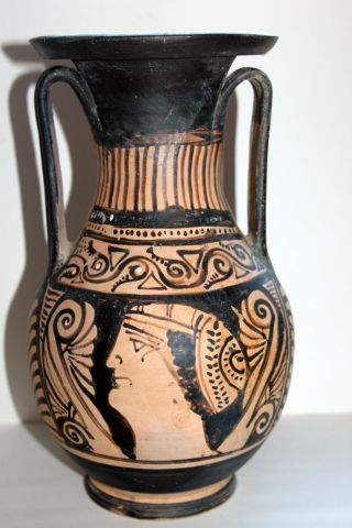Good Quality Ancient Greek Pottery Red Figure Pelike 4th Century Bc photo