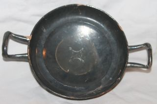 Ancient Greek Pottery Kylix 4th Century Bc Magna Grecian photo
