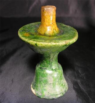Chinese Ming Dynasty Pottery Incense Holder,  C.  16thc. photo