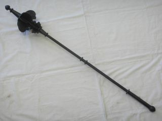 Raj - Put/mughal Indo Persian Mace.  18th C From Bikarner Armoury. photo
