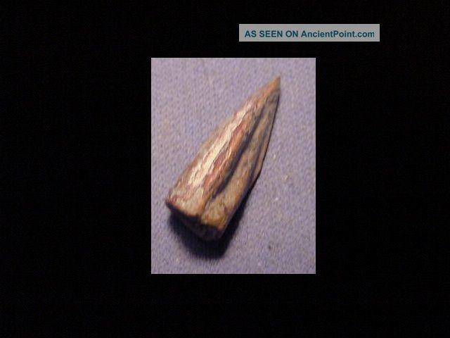 Luristan Bronze Tribolyte Arrowhead Circa 1200 - 800 B.  C. Near Eastern photo
