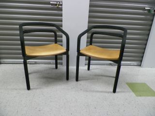 Rubber Armchairs By Brian Kane For Steelcase,  Very Comfortable Modern Look photo