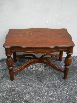 Small Carved Side Table 1721 photo