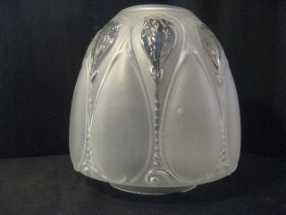 Moulded Beehive 4ins Fit Shade For Oil Lamp photo