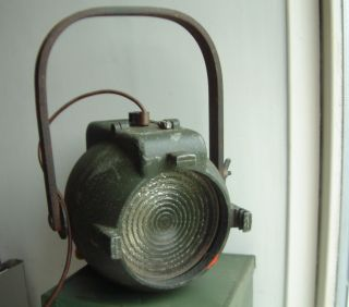 Vintage Strand Pat 123 Stage Light Theatre Lamp Spot Classic 1950s Working photo