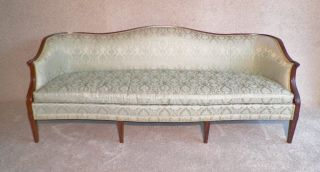 Mid Century,  Hickory Chair Cabriole Sofa,  High Quality Furniture Maker, photo