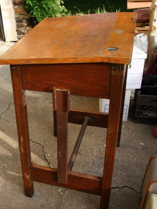 Vintage Drafting Table photo