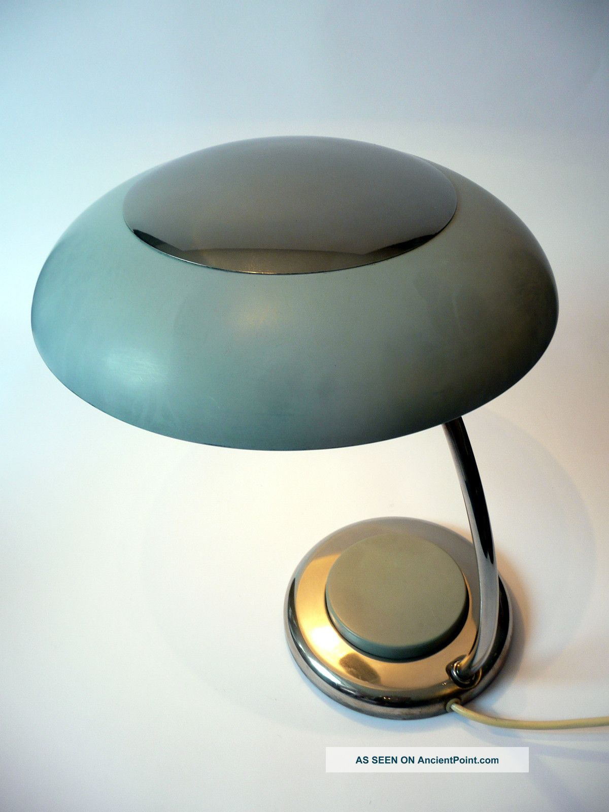 Vintage 1960s X Large Table / Desk Lamp Dutch Mid Century Danish Modern 50s 60s Mid-Century Modernism photo