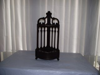 Antique Wood Plant Holder Butler Furniture Co.  (style F25 - 788) photo